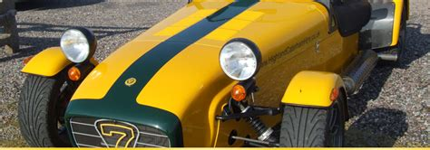 highland caterham hire caterham 7 sports car hire in the