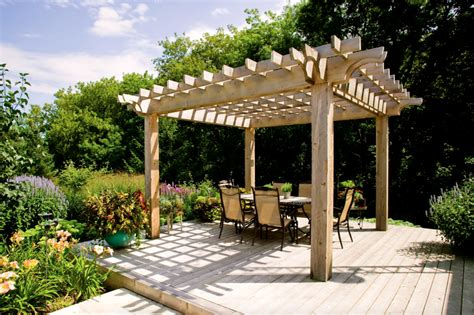 pergola backyard ideas better housekeeper all things cleaning gardening