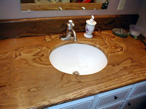 bathroom counter oklahoma picture rock traditional