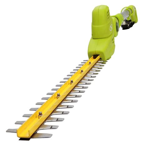 sun joe 18 in electric telescoping pole hedge trimmer