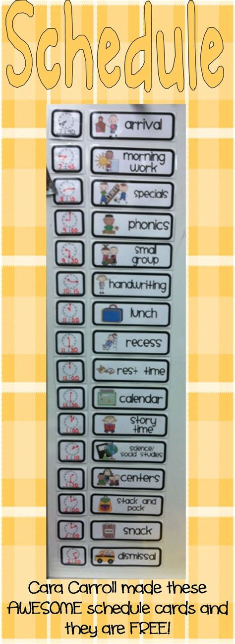 free printable daily visual schedule printable preschool daily schedule cards quotes