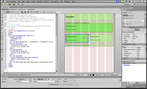 dreamweaver tutorial fluid grid layout dreamweaver cs6 free download