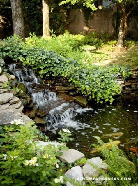 Formidable Mobilier De Jardin Italien #1: fontaine-jardin-ruisseau-lierre-verdure-eau.jpg