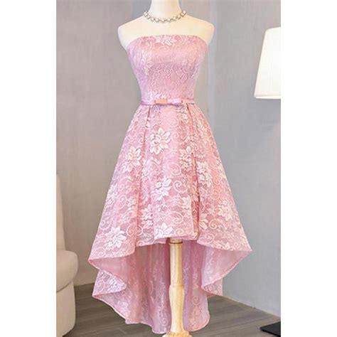 Id Pink Lace Dress a line prom dresses pink a line princess prom dresses a
