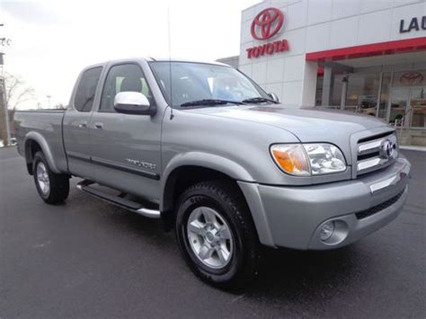 Toyota Tundra Sr5 Package Purchase Used 2005 Toyota Tundra Access Cab Sr5 Trd