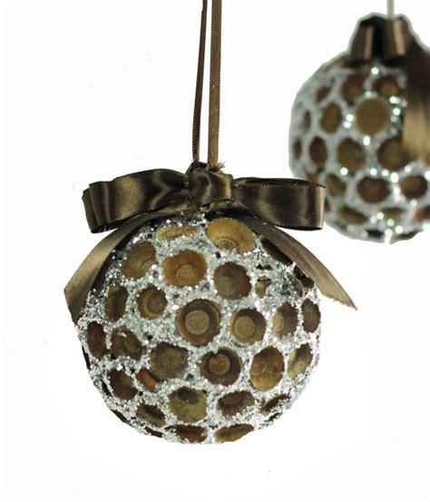 acorn ornaments acorn cap sparkle ornament crafts