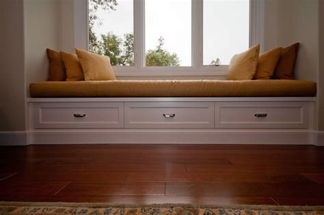 custom window bench window seat i like the storage custom cushion on this