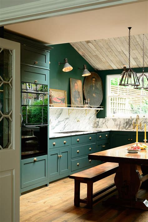 dark green kitchen cabinets pantone s coty greenery and alternative greens we think