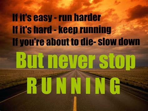 Jogger Never Stop never stop running running