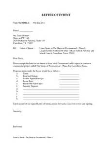 Letter Of Intent To Rent Template Best Photos Of Rent Property Business Letter Samples