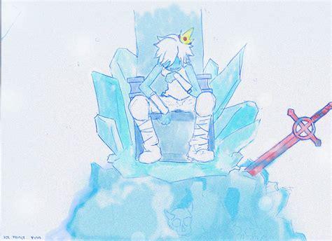 ice prince adventure time  finn  jake fan art