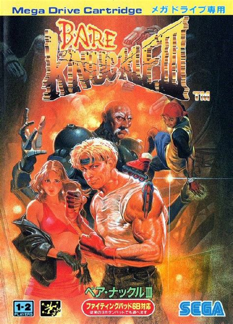 Bare Knuckle 1 streets of rage 3 box for genesis gamefaqs