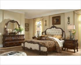 aico bedroom set upholstered headboard lavelle melange ai