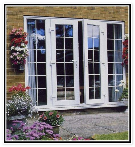 outswing french door  brick house images exterior