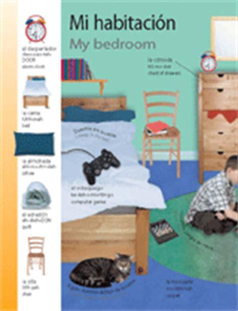 Spanish Word For Bedroom | themed vocabulary my bedroom mi habitaci 243 n spanish