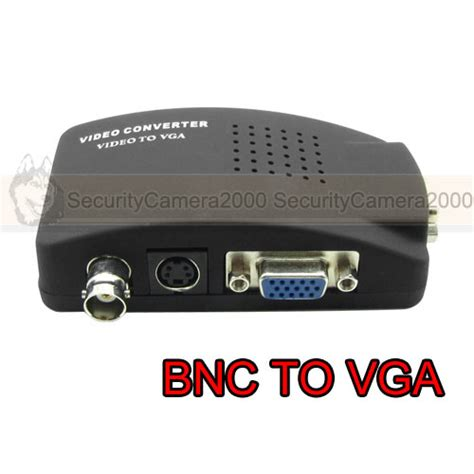 Bnc To Vga Converter Bnc In To Vga Out Converter Box cctv bnc to vga crt lcd monitor converter adapter