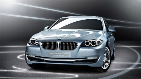 BMW 5 Series Blue Pearl Wallpaper 1080p Free HD