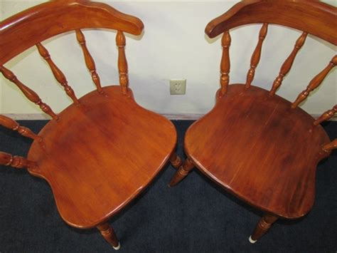 early american kitchen chairs lot detail pair of sweet early american style kitchen chairs
