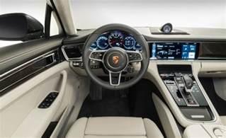 Porsche Panamera Interior 2017 Porsche Panamera Release Date Specs And Interior