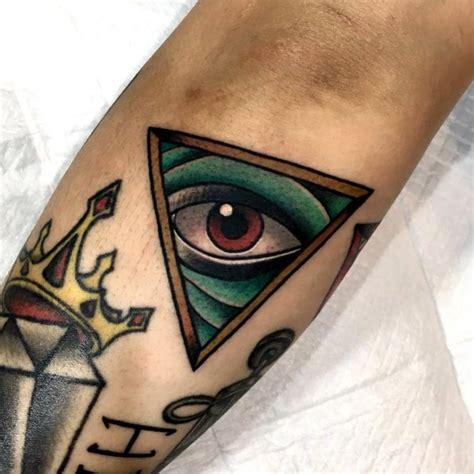 illuminati tattoo on neck 60 mysterious illuminati tattoo designs enlighten yourself