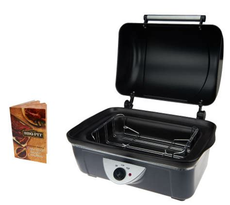 crock pot bbq pit deluxe cooker w rib rack recipe