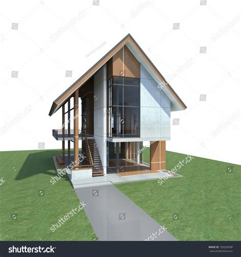 steel structure house design tropical modern house design development steel stock illustration 150220508 shutterstock