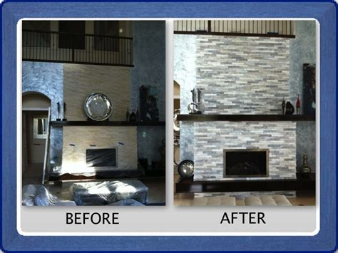 how to refinish a brick fireplace refinishing fireplace neiltortorella