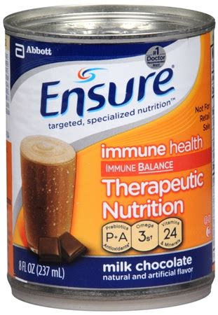 Original Pu5 ensure original therapeutic nutrition shake milk chocolate