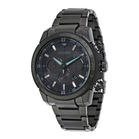 citizen ecosphere eco drive black black stainless