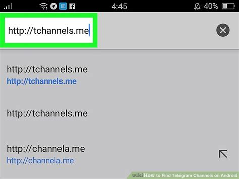 How To Search For On Telegram How To Find Telegram Channels On Android 11 Steps With Pictures