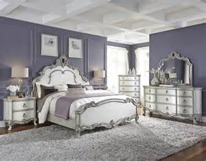 Silver White Bedroom - white and silver bedroom