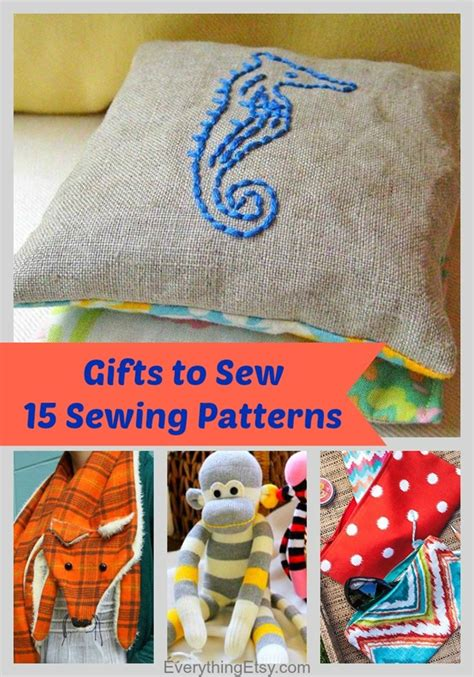 gifts sewing handmade gifts to sew 15 sewing patterns