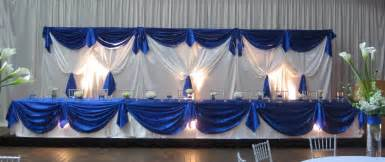 royal blue and ivory wedding decorations ambrosia event services weddings corporate events