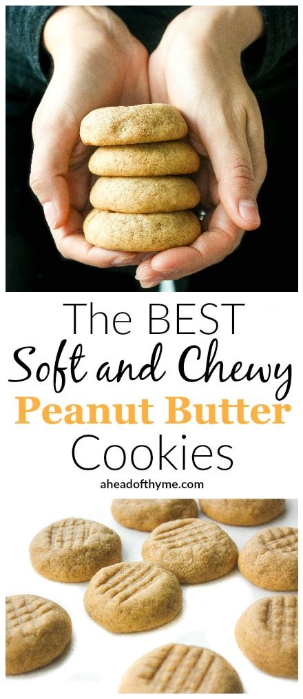 best peanut butter peanut butter cookies top