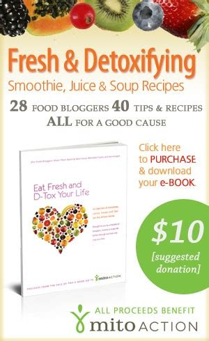 What Is Mito Detox 11 For by New Smoothie Family Detox E Book Proceeds Benefit