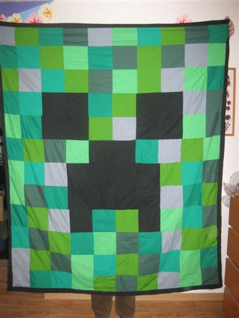 Minecraft Pillow Pattern by 1000 Images About Minecraft Blanket Idea On