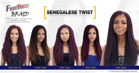 difference between senegalese and rope twist freetress crochet twist hair webwoud