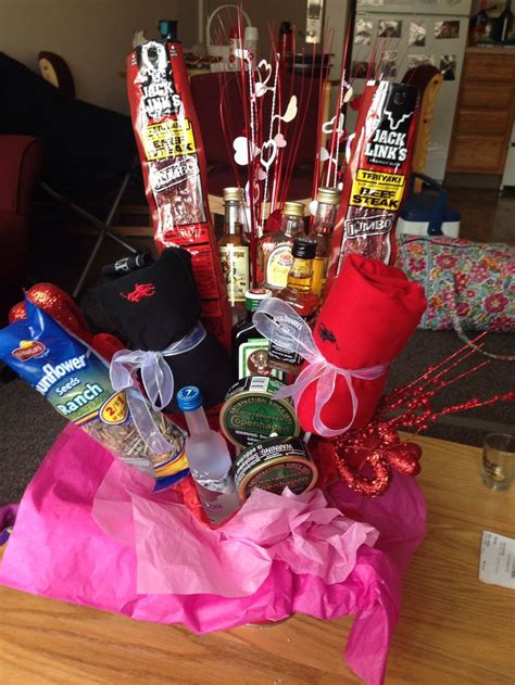 7 Things To Do For Your Anniversary by Diy Boyfriend Gift Liquor Bouquet Valentines Day