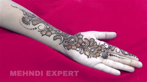simple and adorable arabic henna designs step by step images pictures new simple and beautiful arabic mehndi design for hands