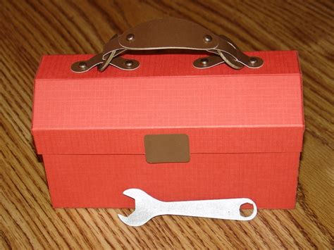 How To Make A Paper Tool Box - all paper tool box scrapbook be my