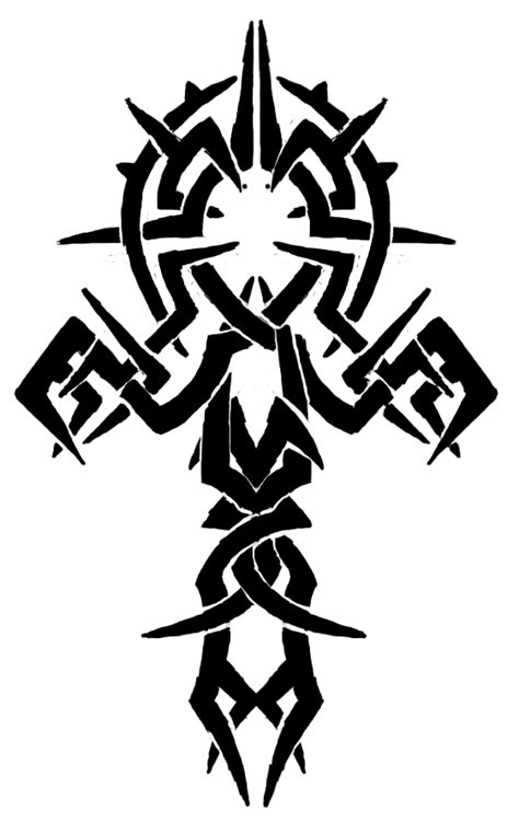 new tattoo png image tribal unique design of ankh tattoo png animal