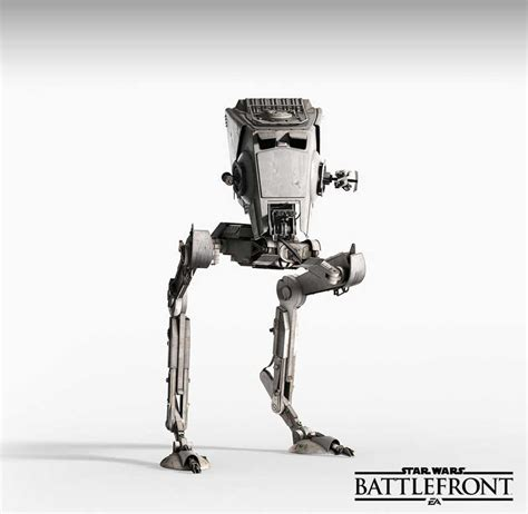 the walker wars battlefront 2015 where should one hit an at st walker to do the most