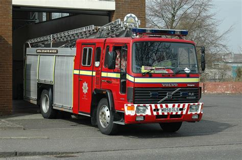 fire engines  central scotland volvo fl
