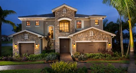 Beach House Blueprints by Miralago At Parkland Estate Collection New Home Community