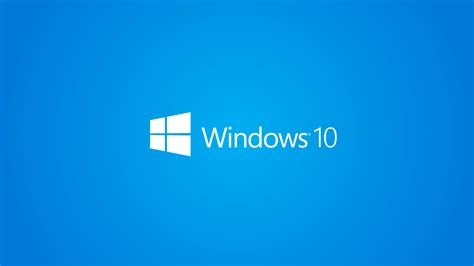 wallpaper for windows 10 full hd windows 10 wallpaper 1080p full hd white logo blue