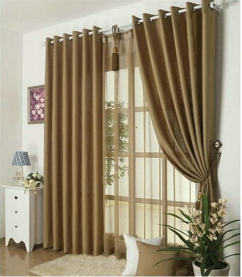 Solid Color Curtains Aliexpress Buy New Arrival Solid Color Curtains For Living Room Plain Curtains Voile 9