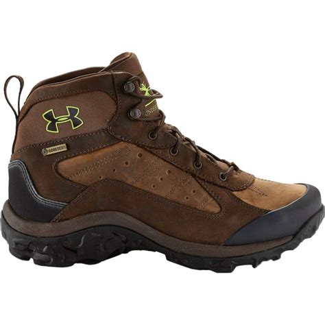 mens hiking boot armour wall hanger leather mid hiking boot s