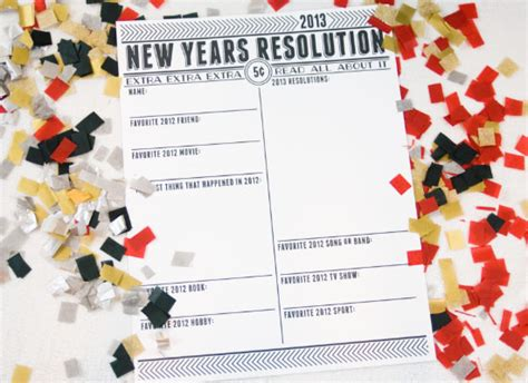 new year resolutions list ideas one charming birthday ideas new years