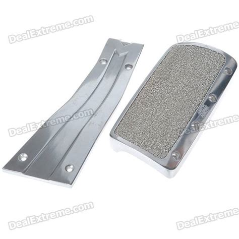Cover Aluminium Pedal Gas Mobil Merah mugen aluminum alloy sports at pedal cover set for car free shipping dealextreme