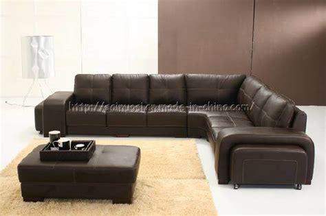 Big Leather Sofa by China Big Leather Corner Sofa D118 China Leather Sofa